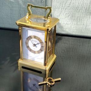 SCHMID Du CHATEAU GERMAN Mantel Clock , Rare Vtg!